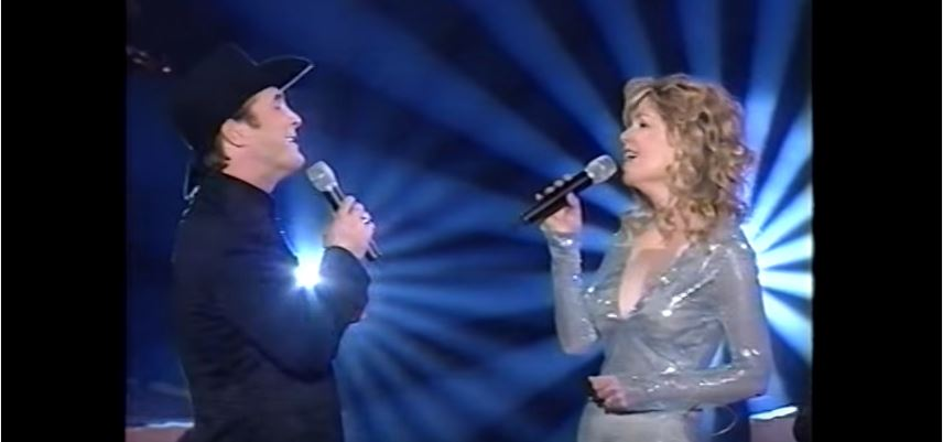 Duo Clint Black & Lisa Hartman Black,en 2000