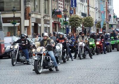 Festival de Cambrai - La Parade du dimanche matin, les motos