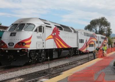 """Le """"Rail Runner"""" du Nouveau-Mexique"""