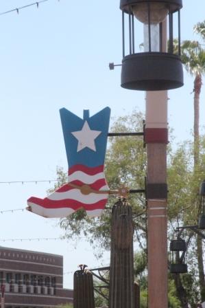 Décors dans le centre ville de Scottsdale