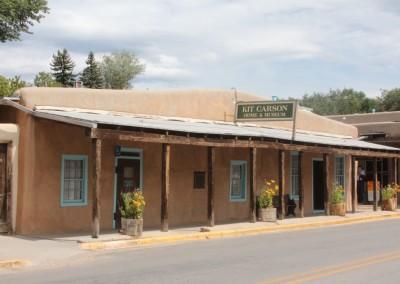 Taos, la maison-musée de Kit Carson