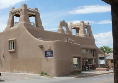 Taos, le centre ville historique