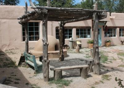 L'arrière-cour de la maison de Kit Carson