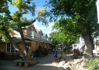 Taos, le centre ville