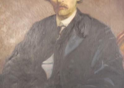 Portrait de Kit Carson vers la fin de sa vie