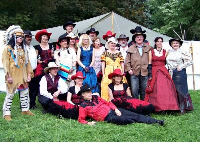 Festival de Cambrai - La troupe des Westerners