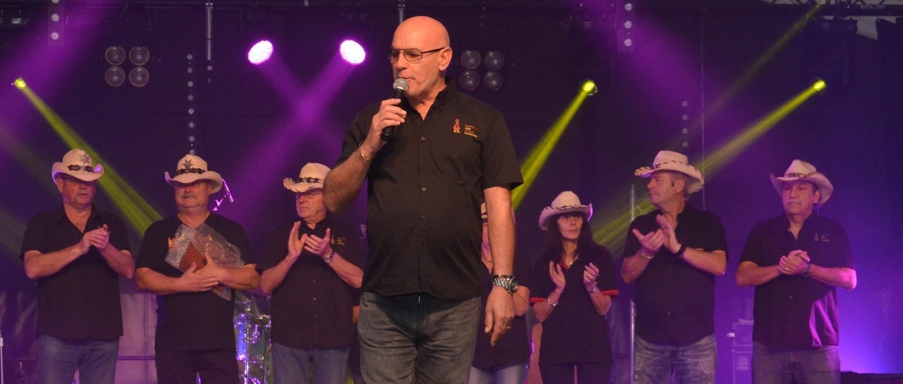 Festival de Santa-Susanna - Bernard et son équipe